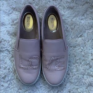 Authentic Michael Kors slip on shoes